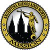 Argentina Buenos Aires North LDS Mission Angel Moroni Gold